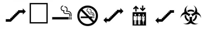 PIXymbols Safety Regular Font OTHER CHARS