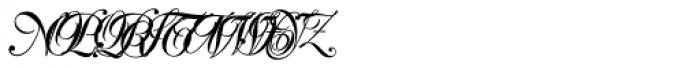 PIXymbols Signet Classic Regular Font UPPERCASE