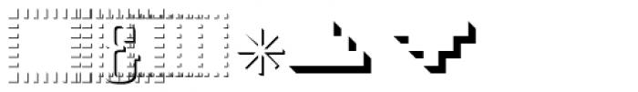 PIXymbols Signet Emboss Regular Font OTHER CHARS