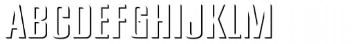 PIXymbols Signet Emboss Regular Font UPPERCASE