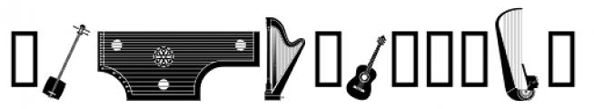 PIXymbols Strings Roman Font UPPERCASE