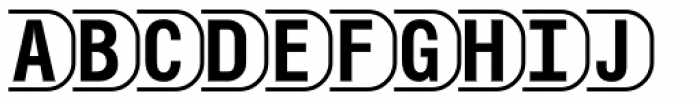 PIXymbols TV White Alpha Font UPPERCASE