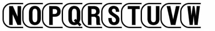 PIXymbols TV White Alpha Font LOWERCASE