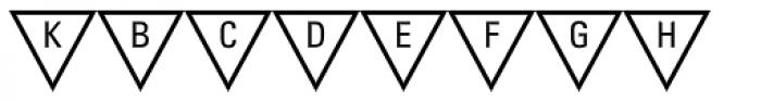 PIXymbols Triangle Alpha Font OTHER CHARS