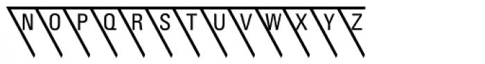 PIXymbols Triangle Alpha Font LOWERCASE