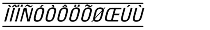 PIXymbols Unikey Italic Font UPPERCASE