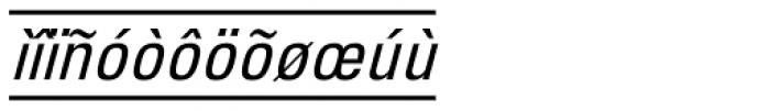 PIXymbols Unikey Italic Font LOWERCASE