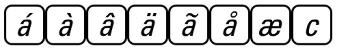PIXymbols Unikey Two Italic Font LOWERCASE