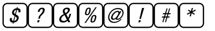 PIXymbols Unikey Two Regular Font OTHER CHARS