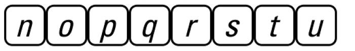 PIXymbols Unikey Two Regular Font LOWERCASE