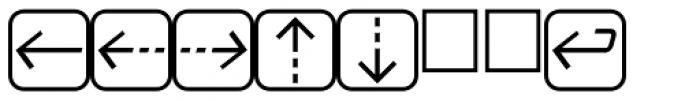 PIXymbols UnikeyTwo Bold Font OTHER CHARS