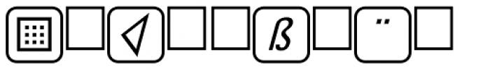 PIXymbols UnikeyTwo Bold Font LOWERCASE