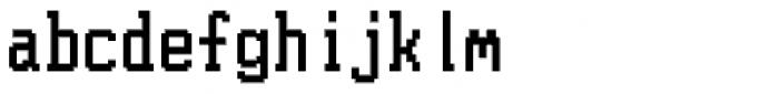 PIXymbols WINscreen Regular Font LOWERCASE