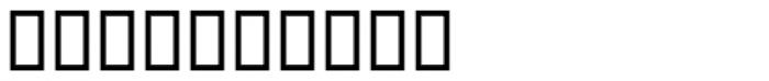 Pi Signs+Symbols Font OTHER CHARS