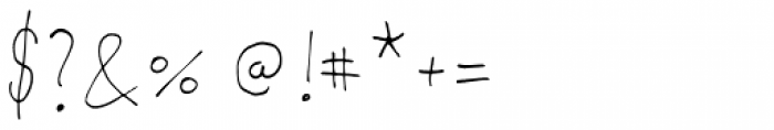 PiS Malefiz Thin Font OTHER CHARS