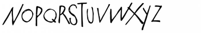 PiS Malefiz Font UPPERCASE