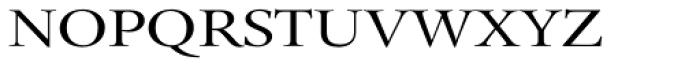 Pial Serif Font UPPERCASE