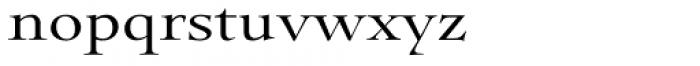 Pial Serif Font LOWERCASE