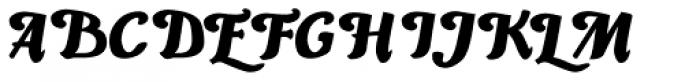Piambis Round Font UPPERCASE