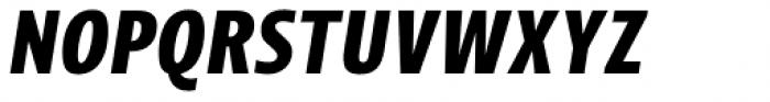 Picador Sans Bold Italic Font UPPERCASE
