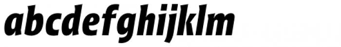 Picador Sans Bold Italic Font LOWERCASE