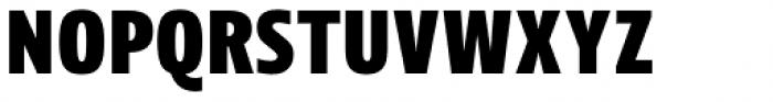 Picador Sans Extra Bold Font UPPERCASE