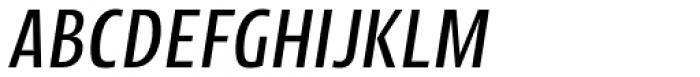 Picador Sans Italic Font UPPERCASE