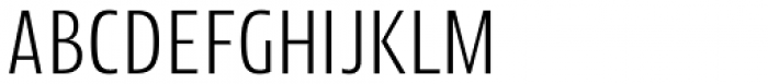 Picador Sans Light Font UPPERCASE