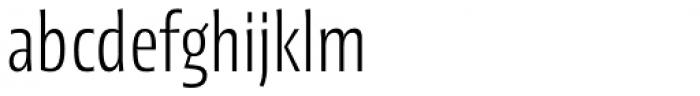 Picador Sans Light Font LOWERCASE
