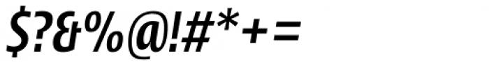 Picador Sans Medium Italic Font OTHER CHARS