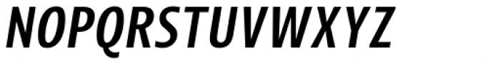 Picador Sans Medium Italic Font UPPERCASE