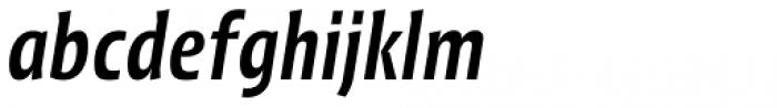 Picador Sans Medium Italic Font LOWERCASE