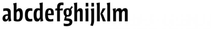 Picador Sans Medium Font LOWERCASE