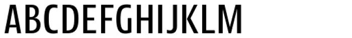Picador Sans Regular Font UPPERCASE