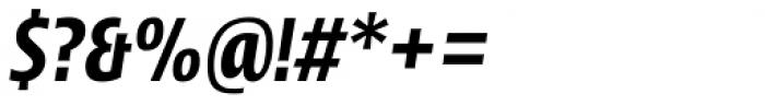 Picador Sans Semi Bold Italic Font OTHER CHARS