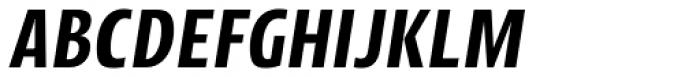 Picador Sans Semi Bold Italic Font UPPERCASE