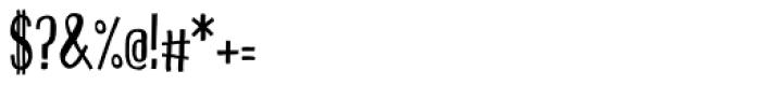 Pichi Bold Font OTHER CHARS