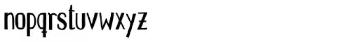 Pichi Bold Font LOWERCASE