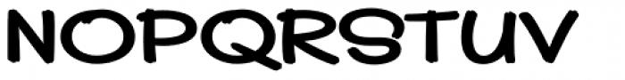Pickle Sans Font UPPERCASE