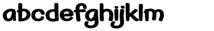 Pickle Sans Font LOWERCASE