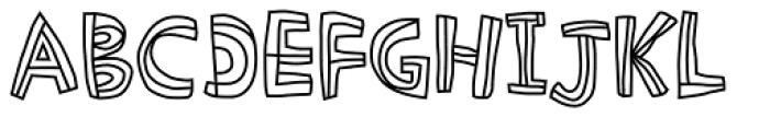 Picklepie Crust Font UPPERCASE