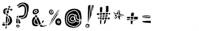Picklepie Filling Font OTHER CHARS
