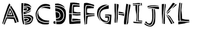 Picklepie Filling Font UPPERCASE