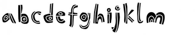 Picklepie Filling Font LOWERCASE