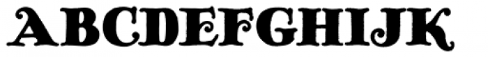 Pickworth Old Style Pro Font UPPERCASE