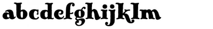 Pickworth Old Style Pro Font LOWERCASE