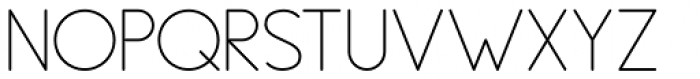 PictiThin Plain Font UPPERCASE