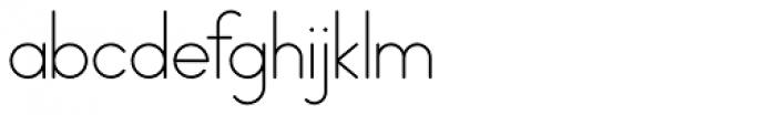 PictiThin Plain Font LOWERCASE