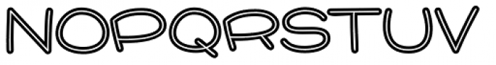 Pie Contest BTN Inline Font UPPERCASE