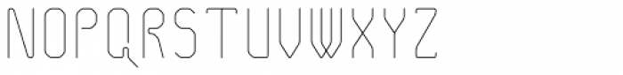Pied de Poule Light Font UPPERCASE